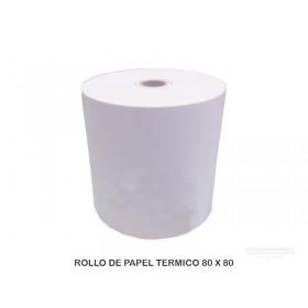 ROLLO DE PAPEL TERMICO 80 X 80