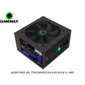 FUENTE PODER GAMEMAX VP-500 APFC 80 PLUS