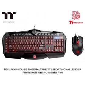 TECLADO+MOUSE THERMALTAKE TTESPORTS CHALLENGER PRIME RGB KBCPC-MBBRSP-01
