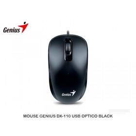 MOUSE GENIUS DX-110 USB OPTICO BLACK