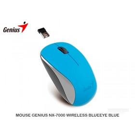 MOUSE GENIUS NX-7000 WIRELESS BLUEEYE BLUE