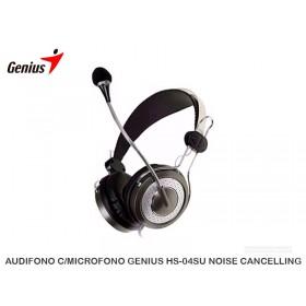 AUDIFONO C/MICROFONO GENIUS HS-04SU NOISE CANCELLING