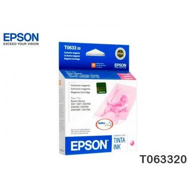 TINTA EPSON STY C67/C87/3700/7700 MAGENTA T063320