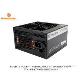 FUENTE PODER THERMALTAKE LITEPOWER 550W, ATX - PS-LTP-0550NNCNUS-F
