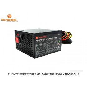 FUENTE PODER THERMALTAKE TR2 500W - TR-500CUS