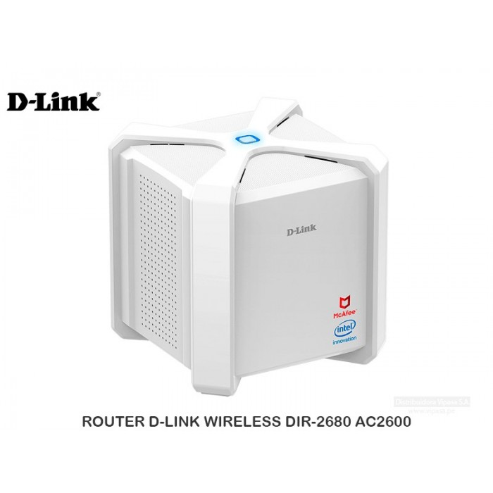 ROUTER D-LINK WIRELESS DIR-2680 AC2600