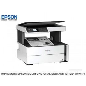 IMPRESORA EPSON MULTIFUNCIONAL ECOTANK ET-M2170 WI-FI