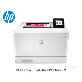 IMPRESORA HP LASERJET PRO M454DW