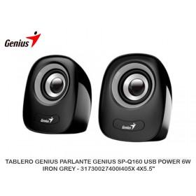 PARLANTE GENIUS SP-Q160 USB POWER 6W IRON GREY - 31730027400