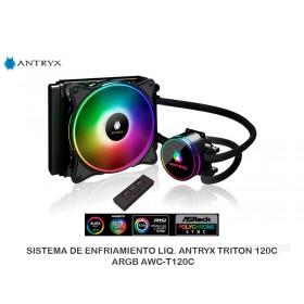 SISTEMADEENFRIAMIENTOLIQ.ANTRYXTRITON120CARGB AWC-T120C