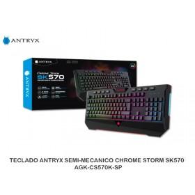 TECLADOANTRYX SEMI-MECANICO CHROMESTORMSK570 - AGK-CS570K-SP