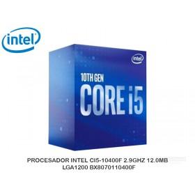 PROCESADOR INTEL CI5-10400F 2.9GHZ 12.0MB, LGA1200 BX8070110400F
