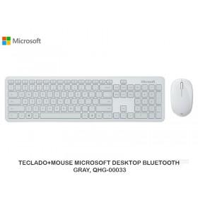 TECLADO+MOUSE MICROSOFT DESKTOP BLUETOOTH GRAY, QHG-00033