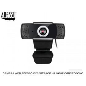 CAMARA WEB ADESSO CYBERTRACK H4 1080P C/MICROFONO