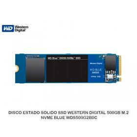 DISCO ESTADO SOLIDO SSD WESTERN DIGITAL 500GB M.2 NVME BLUE WDS500G2B0C