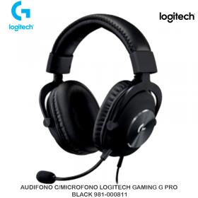 AUDIFONO C/MICROFONO LOGITECH GAMING G PRO BLACK 981-000811