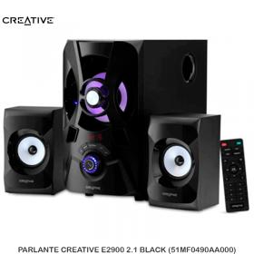 PARLANTE CREATIVE E2900 2.1 BLACK (51MF0490AA000)