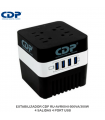 ESTABILIZADOR CDP RU-AVR604I 600VA/300W 4 SALIDAS 4 PORT USB