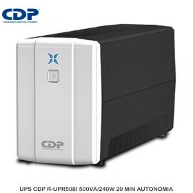 UPS CDP R-UPR508I 500VA/240W 20 MIN AUTONOMIA