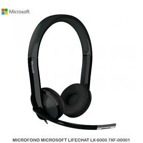 MICROFONO MICROSOFT LIFECHAT LX-6000 7XF-00001