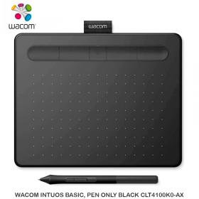 WACOM INTUOS BASIC, PEN ONLY BLACK CLT4100K0-AX