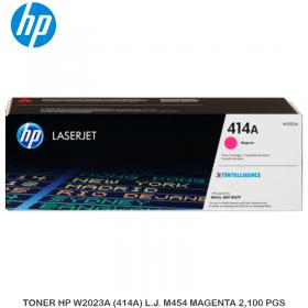 TONER HP W2023A (414A) L.J. M454 MAGENTA 2,100 PGS