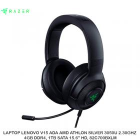AUDIFONO C/MICROFONO RAZER KRAKEN X USB 7.1 PC BLACK RZ04-02960100-R3U1