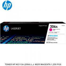 TONER HP W2113A (206A) L.J. M255 MAGENTA 1,250 PGS