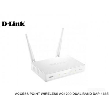 ACCESS POINT D-LINK WIRELESS AC1200 DUAL BAND DAP-1665