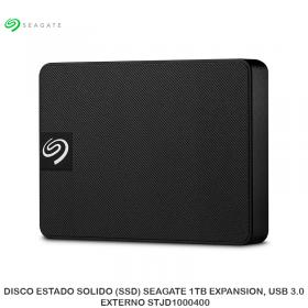 DISCO ESTADO SOLIDO (SSD) SEAGATE 1TB EXPANSION, USB 3.0, EXTERNO STJD1000400