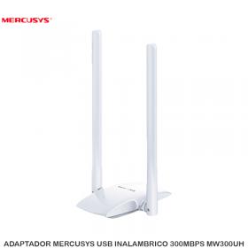 ADAPTADOR MERCUSYS USB INALAMBRICO 300MBPS MW300UH