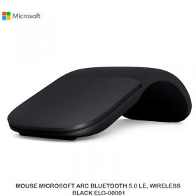 MOUSE MICROSOFT ARC BLUETOOTH 5.0 LE, WIRELESS BLACK ELG-00001