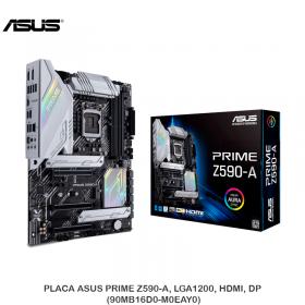 PLACA ASUS PRIME Z590-A, LGA1200, HDMI, DP (90MB16D0-M0EAY0)