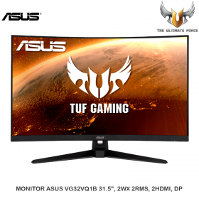 "MONITOR ASUS VG32VQ1B 31.5"", 2WX 2RMS, 2HDMI, DP"