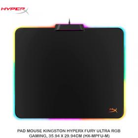 PAD MOUSE KINGSTON HYPERX FURY ULTRA RGB, GAMING, 35.94 X 29.94CM (HX-MPFU-M)