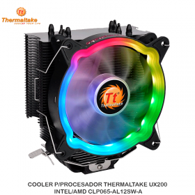 COOLER P/PROCESADOR THERMALTAKE UX200 INTEL/AMD CLP065-AL12SW-A