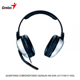 AUDIFONO C/MICROFONO GENIUS HS-05A (31710011100)