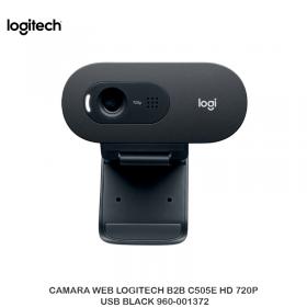 CAMARA WEB LOGITECH B2B C505E HD 720P USB BLACK 960-001372