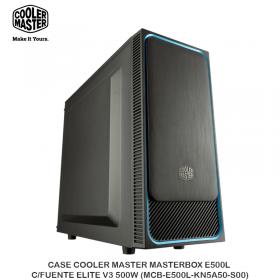 CASECOOLER MASTER MASTERBOXE500L C/FUENTEELITEV3500W (MCB-E500L-KN5A50-S00)