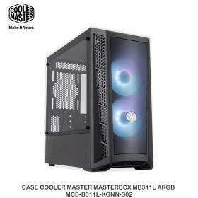 CASE COOLER MASTER MASTERBOX MB311L ARGB MCB-B311L-KGNN-S02