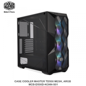 CASE COOLER MASTER TD500 MESH, ARGB - MCB-D500D-KGNN-S01