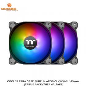 COOLER PARA CASE PURE 14 ARGB CL-F080-PL14SW-A (TRIPLE PACK) THERMALTAKE