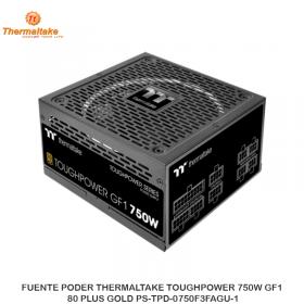 FUENTE PODER THERMALTAKE TOUGHPOWER 750W GF1, 80 PLUS GOLD PS-TPD-0750F3FAGU-1
