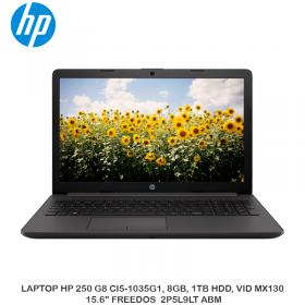 "LAPTOP HP 250 G8 CI5-1035G1, 8GB, 1TB HDD, VID MX130, 15.6"" FREEDOS  2P5L9LT ABM"