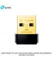 ADAPTADOR TP-LINK USB AC600 DOBLE BANDA INALAMBRICO ARCHER T2U NANO