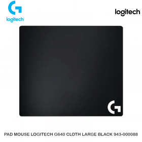 PAD MOUSE LOGITECH G640 CLOTH LARGE BLACK 943-000088