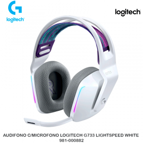 AUDIFONO C/MICROFONO LOGITECH G733 LIGHTSPEED WHITE 981-000882