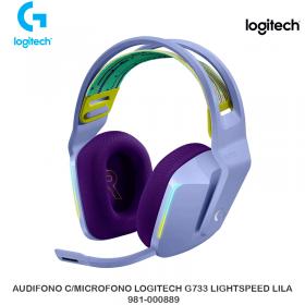 AUDIFONO C/MICROFONO LOGITECH G733 LIGHTSPEED LILAC 981-000889