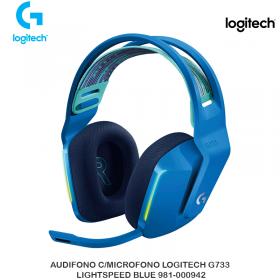 AUDIFONO C/MICROFONO LOGITECH G733 LIGHTSPEED BLUE 981-000942
