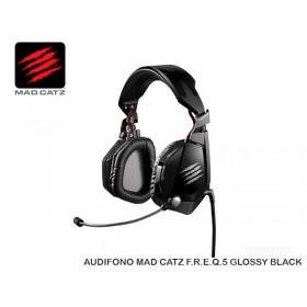 AUDIFONO MAD CATZ F.R.E.Q.5 GLOSSY BLACK